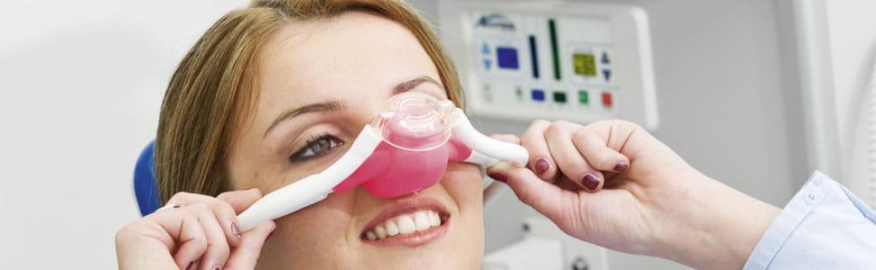 Lachgas-Sedierung beim Zahnarzt